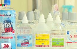 Phát hiện thêm nhiều lô nước muối sinh lý không đạt chất lượng