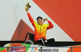 Tổng hợp ngày thi đấu thứ 4 ASIAN Para Games 2018: Võ Thanh Tùng giành HCV thứ 3