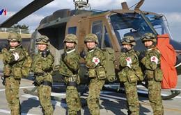 Nhật Bản: Khuyến khích nữ giới tham gia quân đội