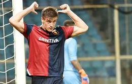 Sao trẻ Serie A ghi bàn khủng gấp đôi Cris Ronaldo