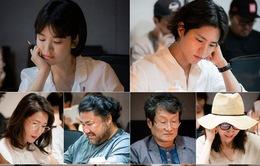 Hậu trường buổi đọc kịch bản của Song Hye Kyo và Park Bo Gum