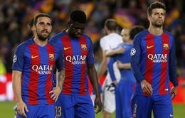 """Hàng thủ bết bát, Barcelona nhắm tới 4 """"đá tảng"""""""