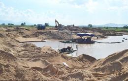 Phát hiện nhiều vi phạm trong khai thác cát tại Phú Yên