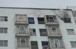 Cháy chung cư T25 khu vực Nại Hiên Đông, Đà Nẵng