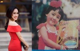 Mới 4 tuổi, BTV Hoài Anh đã làm mẫu ảnh