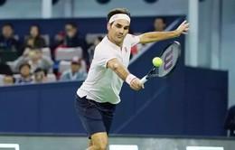 Vượt qua Bautista Agut, Roger Federer vào tứ kết Thượng Hải Masters 2018