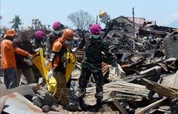 Đẩy nhanh tìm kiếm nạn nhân thiên tai tại Indonesia