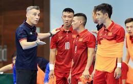 ĐT Futsal Việt Nam tích cực tập luyện hướng tới giải futsal Đông Nam Á 2018