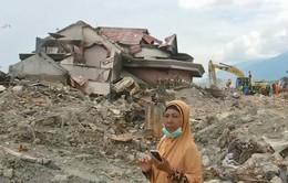 Người mẹ kiên trì tìm con mất tích trong trận động đất, sóng thần tại Indonesia