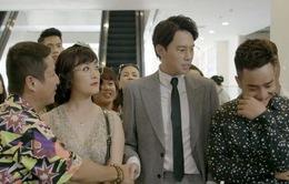 """Yêu thì ghét thôi - Tập 12: """"Bốc phét"""" nhầm chỗ, sếp Nhật Anh ngượng chín mặt trước bố mẹ Kim"""