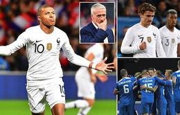Kết quả bóng đá quốc tế sáng 12/10: Pháp hoà Iceland, Tây Ban Nha thắng đậm Xứ Wales