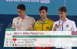 VĐV Huy Hoàng xuất sắc giành HCV tại Thế vận hội Olympic trẻ 2018