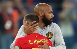 Hazard ủng hộ Henry ... nghỉ việc ở ĐT Bỉ