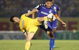 Trận chung kết Cúp Quốc gia 2018 giữa FLC Thanh Hoá và B. Bình Dương diễn ra trên sân Tam Kỳ