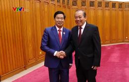 Thúc đẩy quan hệ hợp tác Hà Nội - Vientiane