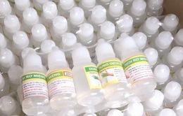 TP.HCM: Sẽ xử lý cơ sở sản xuất nước rơ lưỡi không đảm bảo chất lượng