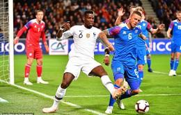 Kết quả bóng đá quốc tế sáng 12/10: Pháp 2-2 Iceland, Xứ Wales 1-4 Tây Ban Nha, Ba Lan 2–3 Bồ Đào Nha...