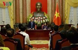 Quyền Chủ tịch nước tiếp đoàn doanh nghiệp nhỏ và vừa Việt Nam