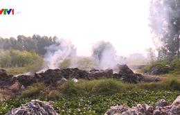 Đốt rác thải tràn lan, hàng trăm hộ dân huyện Sóc Sơn (Hà Nội) sống khổ vì ô nhiễm