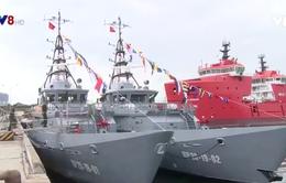 Bàn giao tàu tuần tra cao tốc cho Bộ Tư lệnh Biên phòng Việt Nam