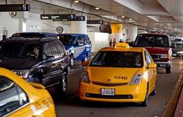 Quản lý taxi tại sân bay quốc tế của Mỹ - Chuyên nghiệp và quy củ