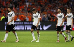 ĐT Đức lập kỷ lục buồn sau thất bại trước ĐT Hà Lan