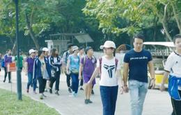 Hàng nghìn người tham dự Ngày hội đi bộ tuyên truyền bảo vệ môi trường
