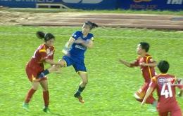 6 nữ cầu thủ CLB TP HCM I và Than KSVN bị cấm thi đấu 5 tháng vì xô xát sau trận đấu