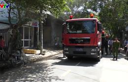Đà Nẵng: Cháy xưởng thu mua phế liệu nghi do chập điện