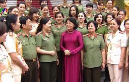 Nữ Công an nhân dân góp phần xây dựng bảo vệ Tổ quốc