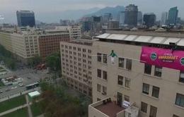 Màn đi dây trên không đầy mạo hiểm tại Chile