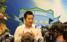 Cựu danh thủ Nguyễn Hồng Sơn làm HLV trưởng CLB Hà Nội Phù Đổng