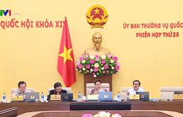 Bế mạc Phiên họp lần thứ 28 của Ủy ban Thường vụ Quốc hội