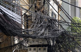 Thừa Thiên Huế chấn chỉnh tình trạng lộn xộn của cáp viễn thông