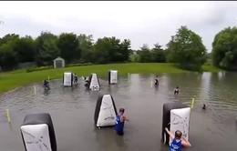 Thú vị môn bắn cung trên nước