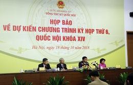 Quốc hội sẽ tiến hành lấy phiếu tín nhiệm trước phiên chất vấn tại Kỳ họp thứ 6