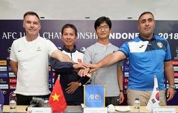 HLV Hoàng Anh Tuấn đặt tham vọng lặp lại kỳ tích lọt vào World Cup U20 tại VCK U19 châu Á 2018
