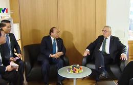 Chủ tịch Ủy ban châu Âu ủng hộ sớm ký và phê chuẩn EVFTA
