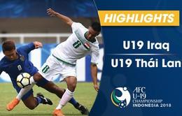 VIDEO: Tổng hợp diễn biến U19 Iraq 3-3 U19 Thái Lan