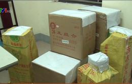 Phát hiện vụ vận chuyển gần 300kg pháo nổ tại Nghệ An