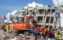 Indonesia: Tìm kiếm khoảng 50 người bị mắc kẹt trong khách sạn sau trận động đất
