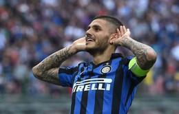 Mauro Icardi tiếp tục gây rắc rối tại Inter Milan
