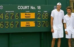 Wimbledon và thay đổi lịch sử về tie-break