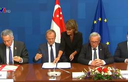 EU chính thức ký hiệp định thương mại với Singapore