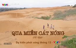 """Ký sự """"Qua miền cát nóng"""": Sức sống trên những đồi cát nắng cháy miền Trung"""