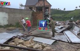 Lâm Đồng: 16 căn nhà bị tốc mái do lốc xoáy