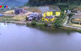 Tràn lan biệt thự nghỉ dưỡng giữa rừng phòng hộ ở Sóc Sơn