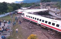 Số người bị thương trong vụ lật tàu ở Đài Loan (Trung Quốc) lên đến 190 người