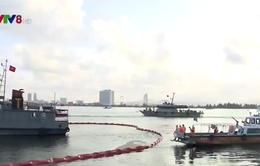 Tập huấn và thực hành ứng phó sự cố tràn dầu tại Đà Nẵng