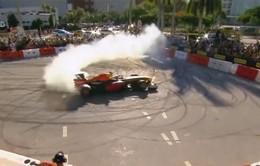 Trình diễn xe F1 ấn tượng tại Mỹ